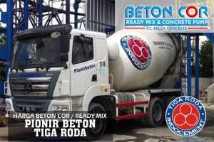 harga beton cor ready mix pionir tiga roda
